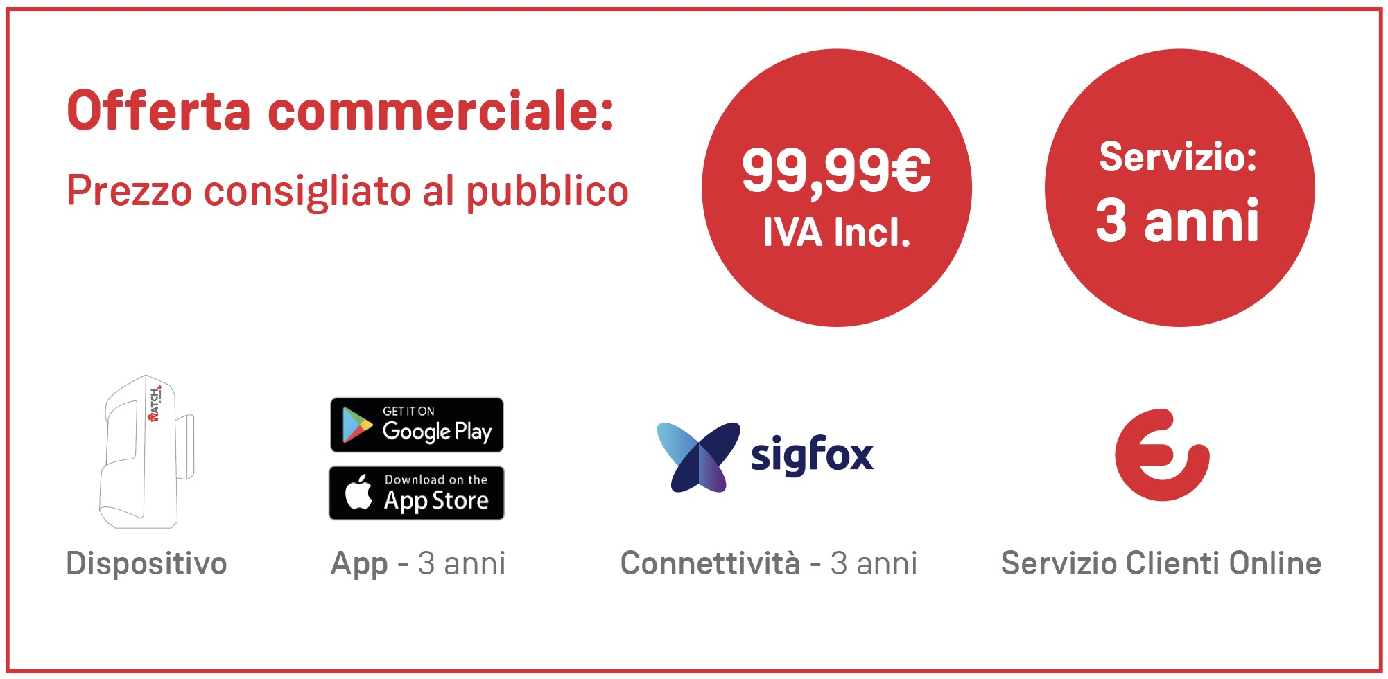 watch offerta commerciale