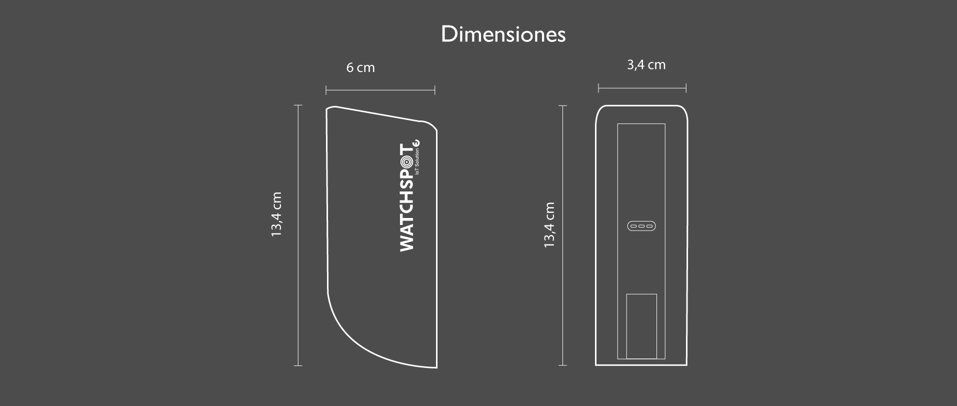 WatchSpot dimensiones