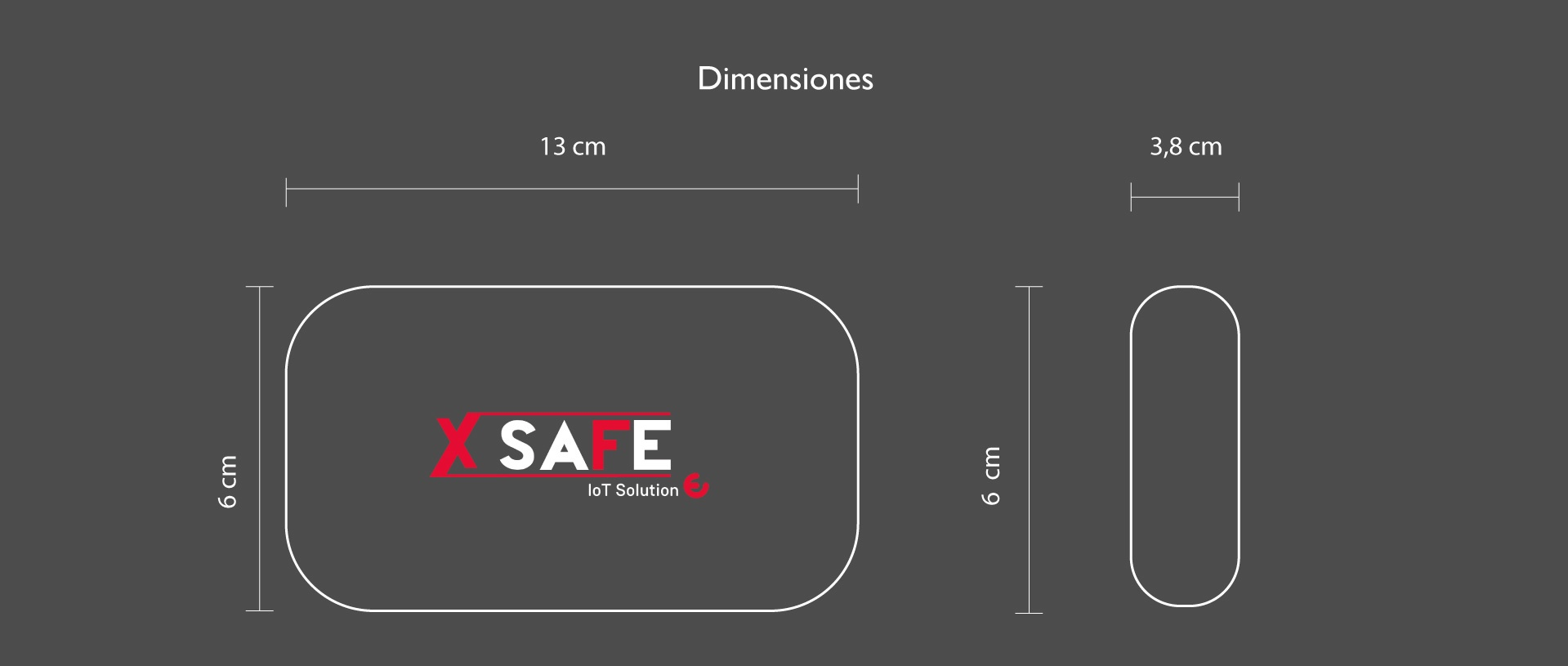 X Safe Dimensiones