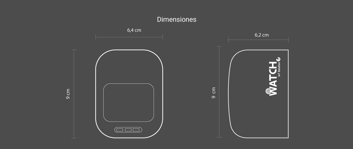 Watch dimensiones