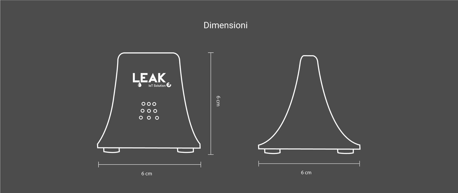 leak dimensioni
